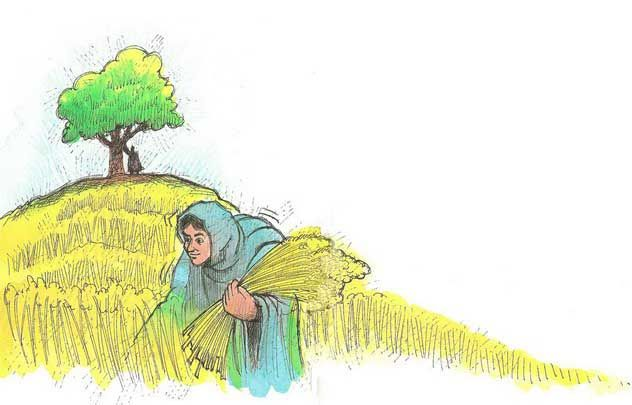 Bible Story of Ruth and Naomi   Child Bible Story Online...lots of illustrated Bible stories