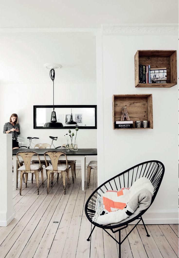 Les 11 meilleures images du tableau d co cuisine bistrot for Appartement deco bistrot