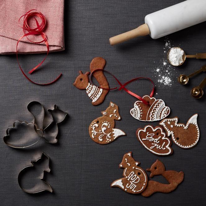 Forest Cookie Cutters leivontamuotti 8,95 #leivontamuotti #joulu #hemtex
