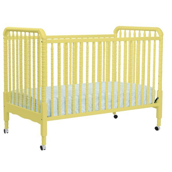 A beloved nursery favorite, DaVinci's Jenny Lind Crib features intricate detailing and signature spindle posts. Loved for its timeless elegance, Jenny Lind graces your nursery with a unique charm and innocence. Jenny Lind Crib meets or surpasses the latest safety standards, and every crib undergoes individual inspection.