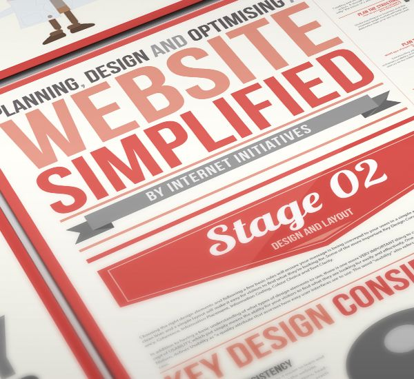 Website Simplified Design Infographic | Downgraf