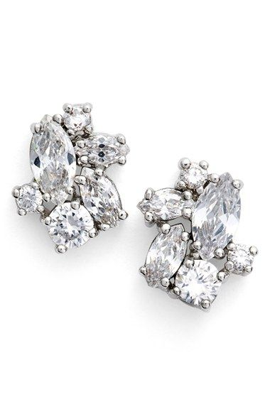 Givenchy Crystal Cluster Stud Earrings available at Nordstrom