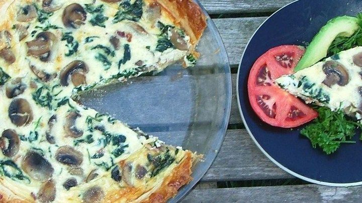 Basic Quiche recipe . . . almost anything can be added to make this basic quiche conform to your tastes, or it can be left plain for those with simple tastes.
