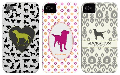 Lab lovers: rejoice! There's a smartphone case (or seven) designed just for you. It's a Lab Thing has a collection of covers featuring their breed of choice, available in ten different phone models (finally, not just iPhones)!