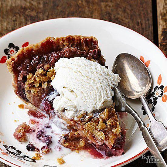 Apfel-Brombeer-Kuchen   – Pies