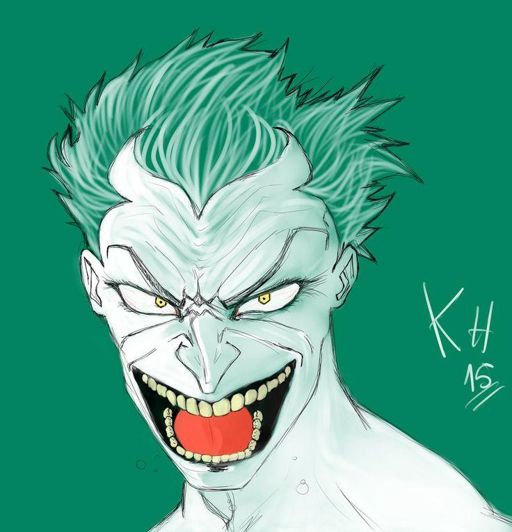 joker pintado by reyolvidado.deviantart.com on @DeviantArt