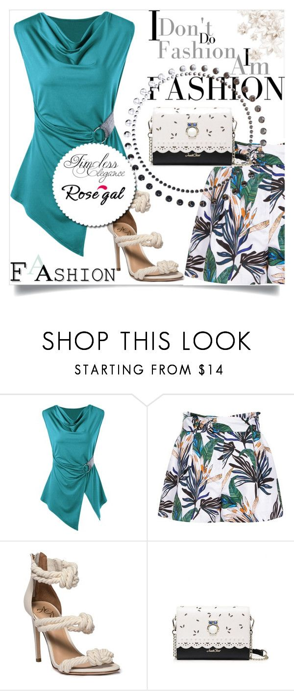 """""""Bez naslova #171"""" by semiragoletic ❤ liked on Polyvore featuring Reiss, casual, Sleeveless, Tshirt, plussize and rosegal"""