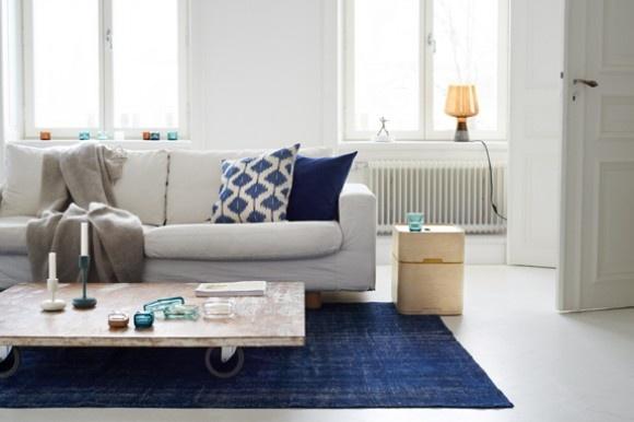 Iittala apartment in Stockholm. Via Bungalow5.