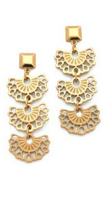 Tony Burch Madura Frete Drop earrings from Shopbop Love them