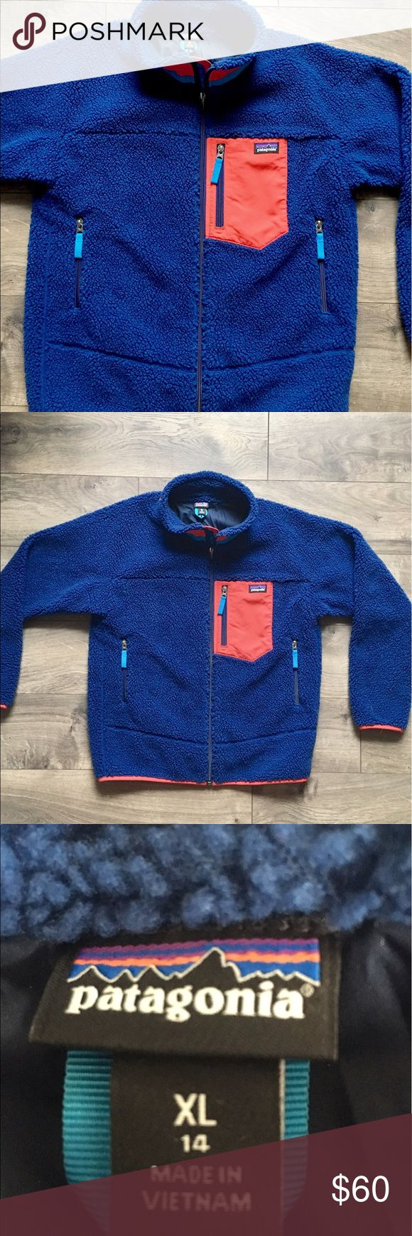 Kids Patagonia Retro X jacket size 14 Kids Patagonia Retro X jacket size 14. Great condition. Worn once. Patagonia Jackets & Coats