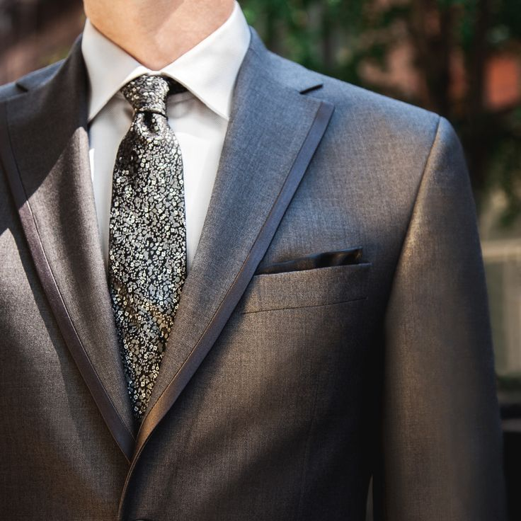 The Gray Tux from #BLACKbyVeraWang, the designer's first collection of men's formalwear.