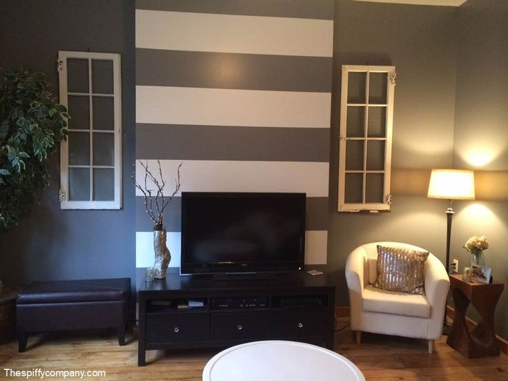 Best 25 Striped Accent Walls Ideas On Pinterest