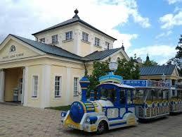 Franzensbahn durch Franzensbad, Böhmen