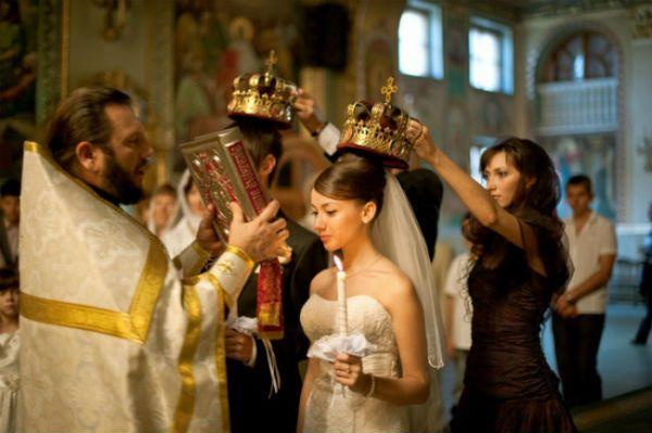 Православная свадьба. Обряд венчания