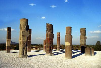 NINIVEMAIL: Mexico - Teotihuacán - La Venta - Olmékové Veracru...