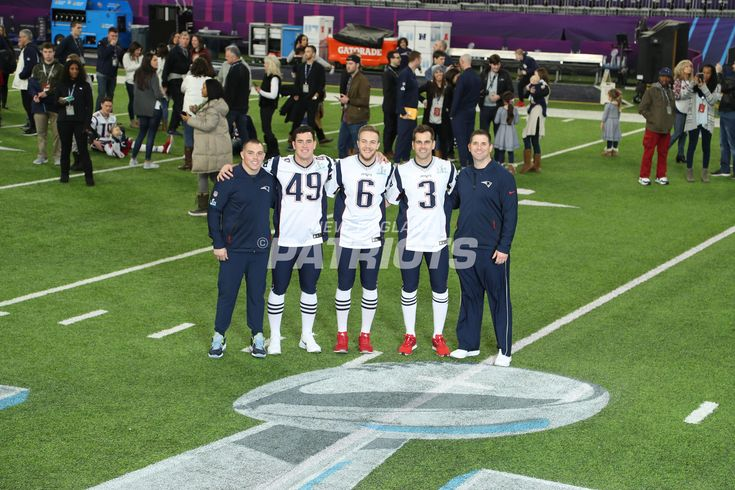 Presenting some of our favorite photos of the positional groups from the Patriots team photo day at U.S. Bank Stadium on Saturday, Feb. 3, 2018.