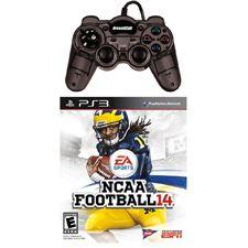 Te presentamos el paquete ideal para que puedas jugar en pareja y pasar horas de emoción y entretenimiento, EL juego NCAA Football 14 ESPN para Playstation 3 y el mini control turbo para la misma consola. Este paquete se encuentra disponible solo en la tienda en línea. Aprovecha ya.