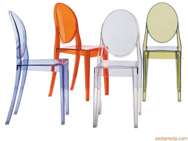 Victoria Ghost | Kartell design chair, in several colours
