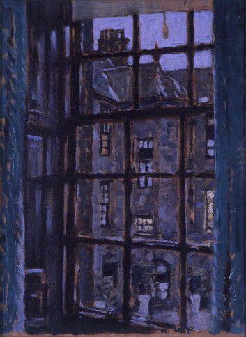 Stanley Cursiter (1887-1976). Window - Burnstane House, 1935