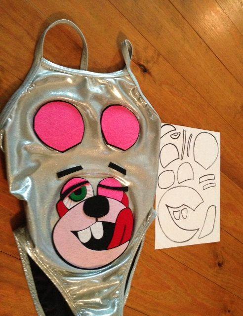 Miley Cyrus VMA bear costume look a like Bear by lyricbrock, $4.99