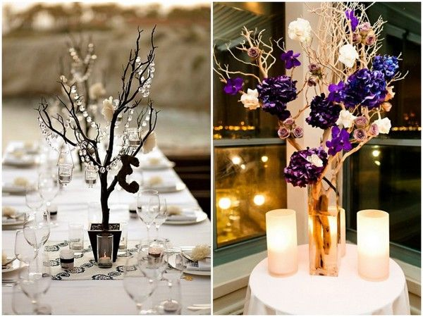 Best images about manzanita tree centerpieces on