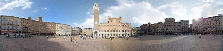 Piazza del Campo a Siena è la piazza principale della città dalla forma unica e originale di conchiglia. E' inoltre famosa in tutto il mondo per essere il luogo, 2 volte all'anno, in cui si svolge il Palio di Siena tra le 17 contrade di origine medioevale in cui è divisa la città di Siena. Solo piazza del Campo e il Palazzo Pubblico sede del comune, per convenzione non appartengono a nessuna contrada. Qui B&B a Siena in Toscana http://bedandbreakfast.place/it/bb-toscana/siena/siena