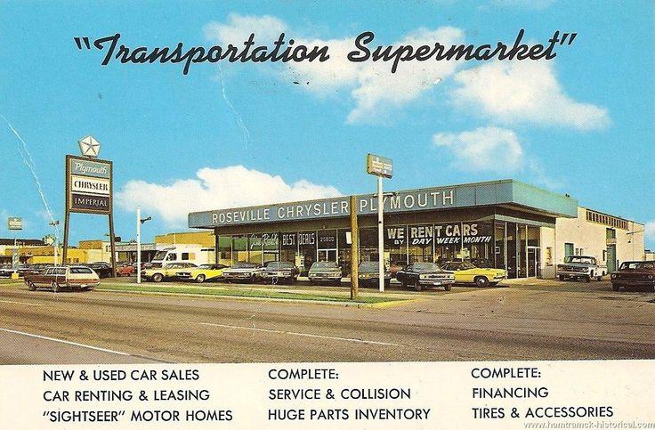 ChryslerPlymouth Dealer, c. 1971 Used car lots, Chrysler