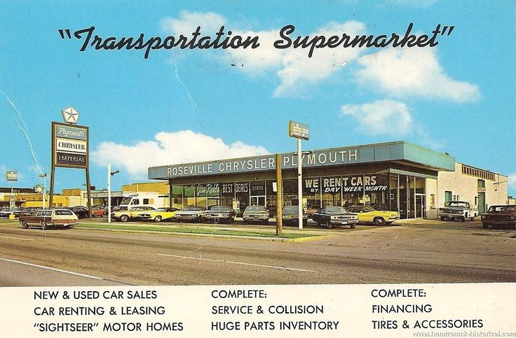 Roseville Auto Sales >> 17 Best images about Vintage speed & custom shops, dealerships, and gas stations on Pinterest ...