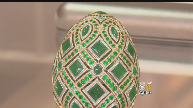 The Faberge Egg is worth about $740,000. WBZ-TV's Lisa Hughes reports.