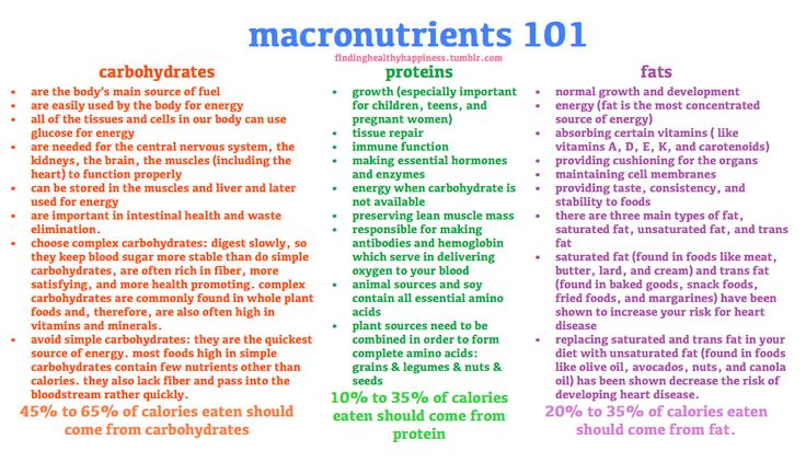 how to work out your macros