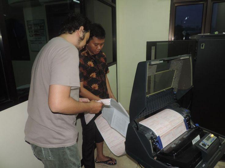 Pencetakan SPPT PBB P2 tahun 2016 oleh UPPD Senen