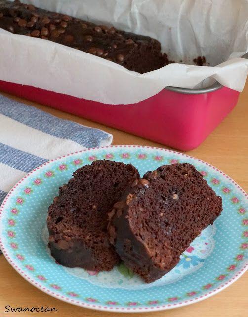 Chocolate banana cake-Κέικ σοκολάτας μπανάνας