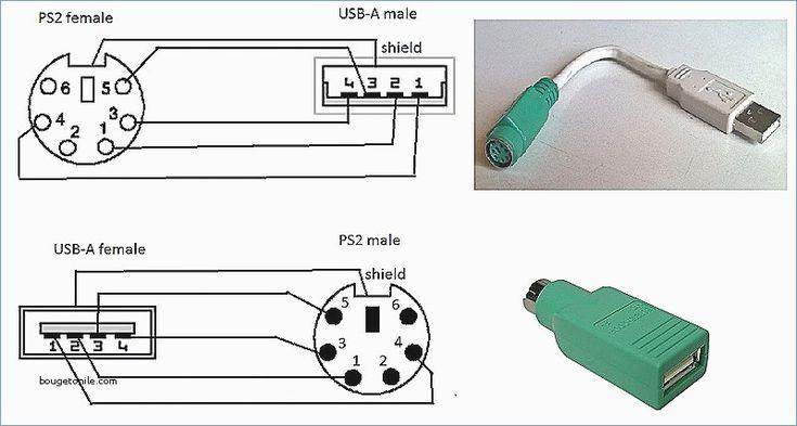 Ps2 Keyboard To Usb Wiring Diagram, Pc Keyboard Wiring Diagram
