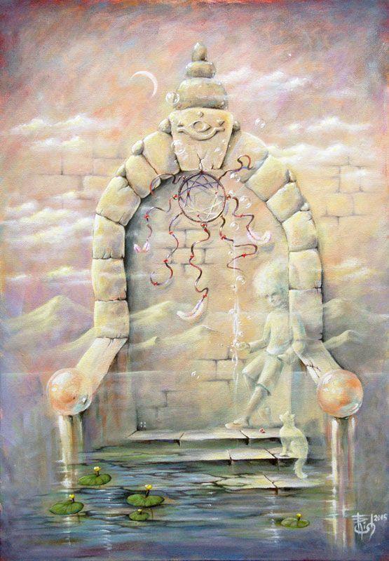 Картины МАГИЯ РУН. Trish: Двери, которых нет-2