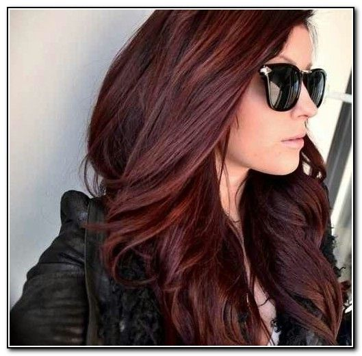 Dark Auburn Hair Color Ideas With Highlights In Hairstyles And Beauty Pinterest