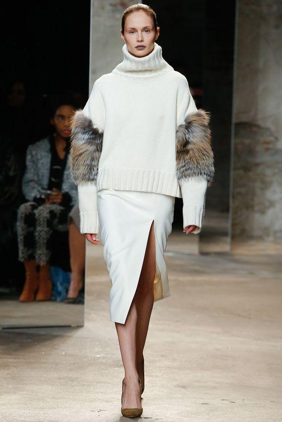 moda y tendencias otoño invierno 2016-2017 | Sally Lapointe Otoño-Invierno 2016/2017 New York Fashion Week | Vogue