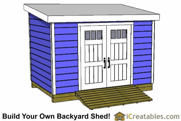 8x12 Lean To Shed Front Put It Outside Pinterest