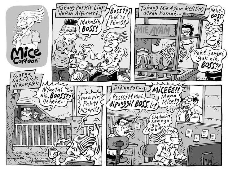 Mice Cartoon, Kompas 23.02.2014: Dipanggil Boss