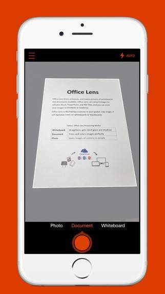 Office Lens now on android