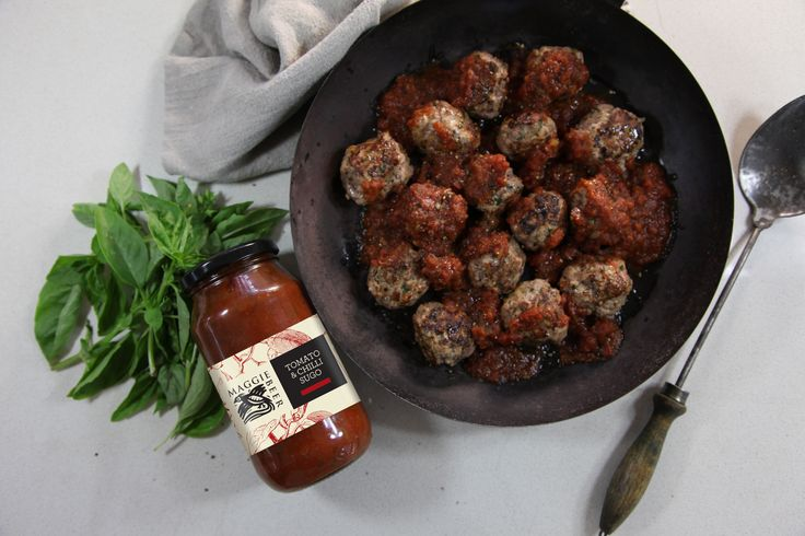 Meatballs with Sugo - Maggie Beer