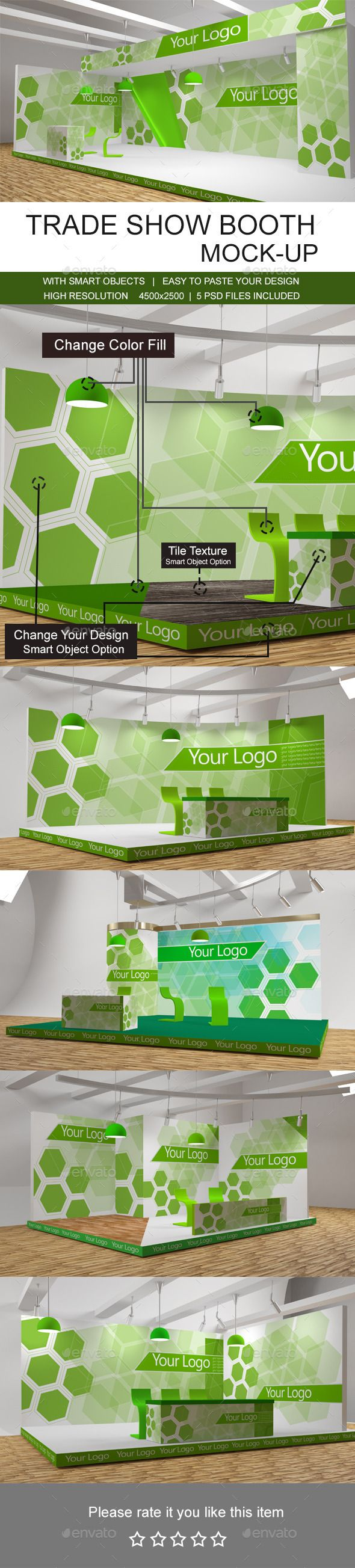 Trade Show Booth Mockups — Photoshop PSD #clean #mint • Available here → https://graphicriver.net/item/trade-show-booth-mockups/10323723?ref=pxcr