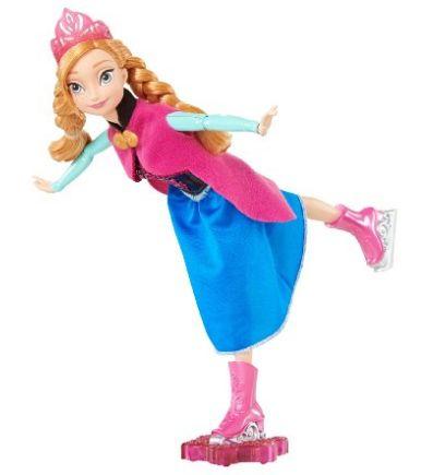 Disney Frozen Dolls: Ice Skating Anna #disney #frozen #dolls