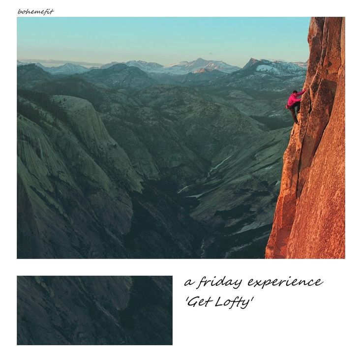 062 friday experience 'Get Lofty' #bohemefit ☾