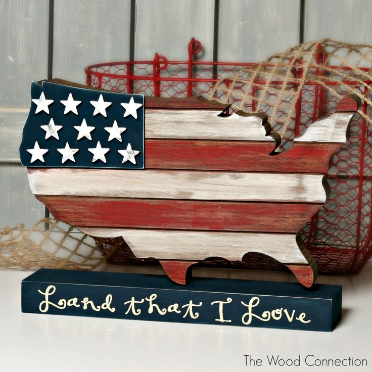 USA Wood Cutout | The Wood Connection