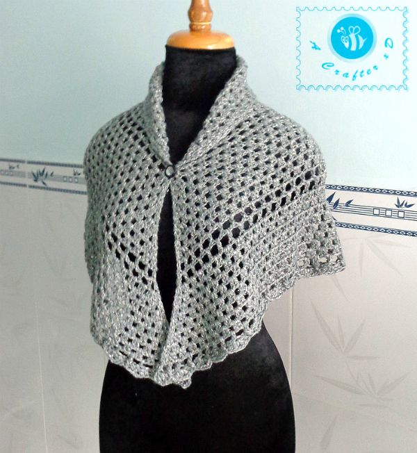 Free Crochet Patterns For Shawls And Wraps : 1000+ images about Capa corta on Pinterest Crochet shawl ...