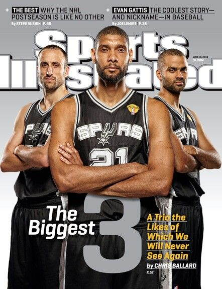 The BIGGEST 3:, TIM DUNCAN, TONY PARKER and MANU GINOBILI.