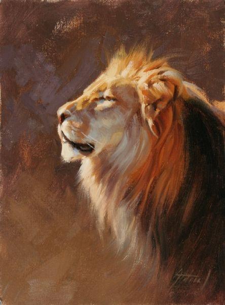 Edward Aldrich -- Lion portrait