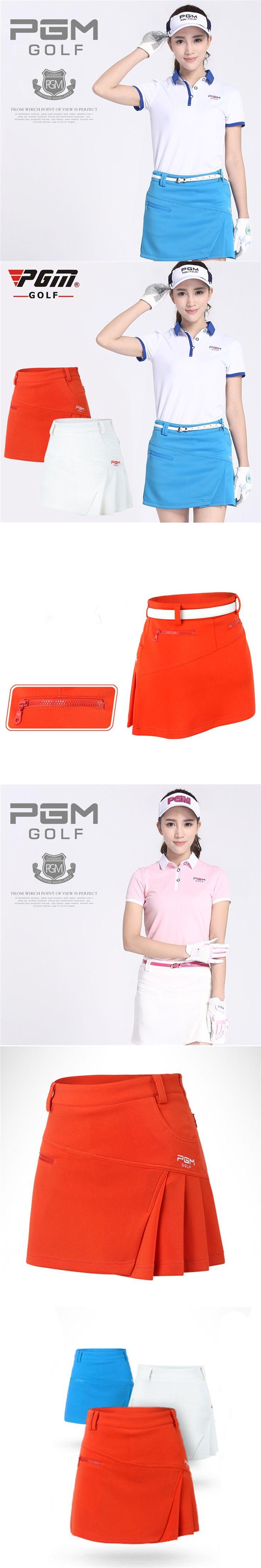 PGM Brand Womens Golf Short Solid Color Skirt Dress Shorts Pants Kilt Golf Clothing Quick Dry Skirts Sportswear 3 Colors 5 Sizes