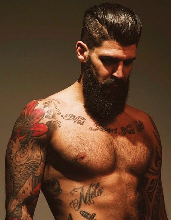 279 Best Images About Beard Tattoos On Pinterest