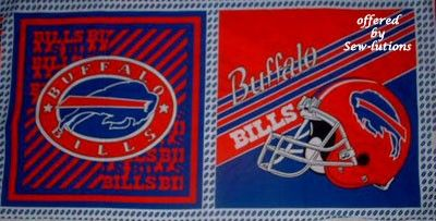 Are you ready for some FOOTBALL?  BUFFALO BILLS Logo Fabric    @FABRIC4YOU